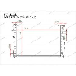 Радиатор основной Gerat SU-112/2R