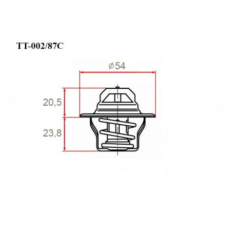 Термостат автомобильный Gerat TT-002/87C