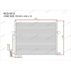 Конденсатор Gerat RCD-0012