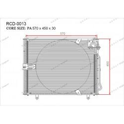 Конденсатор Gerat RCD-0013