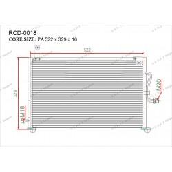 Конденсатор Gerat RCD-0018