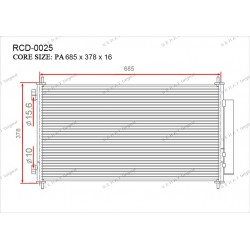 Конденсатор Gerat RCD-0025