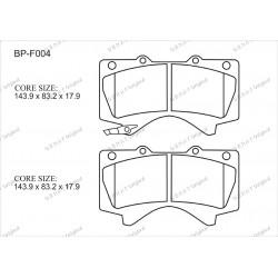 Тормозные колодки Great BP-F004
