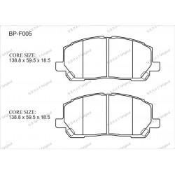 Тормозные колодки Great BP-F005