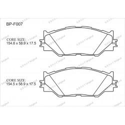 Тормозные колодки Great BP-F007
