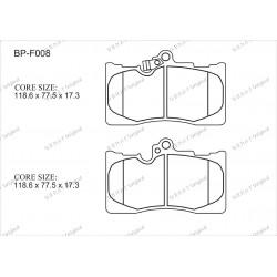 Тормозные колодки Great BP-F008