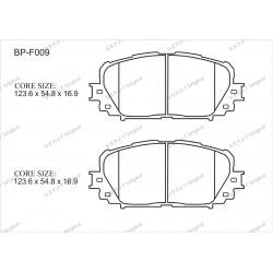 Тормозные колодки Great BP-F009