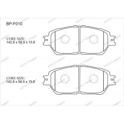 Тормозные колодки Great BP-F010