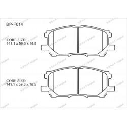Тормозные колодки Great BP-F014