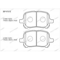 Тормозные колодки Great BP-F015