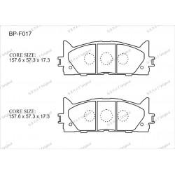 Тормозные колодки Great BP-F017