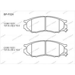 Тормозные колодки Great BP-F024