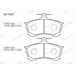 Тормозные колодки Great BP-F029