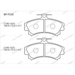 Тормозные колодки Great BP-F030