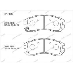 Тормозные колодки Great BP-F032
