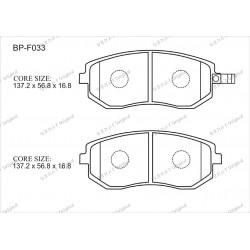 Тормозные колодки Great BP-F033