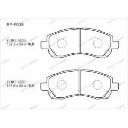 Тормозные колодки Great BP-F035