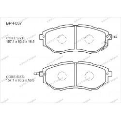 Тормозные колодки Great BP-F037