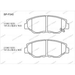 Тормозные колодки Great BP-F040