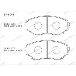 Тормозные колодки Great BP-F045