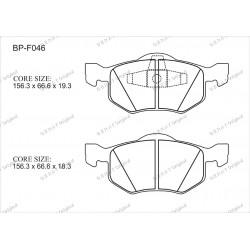 Тормозные колодки Great BP-F046