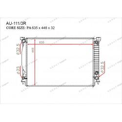 Радиатор основной Gerat AU-111/3R