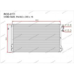 Радиатор кондиционера Gerat RCD-0111