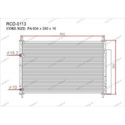 Радиатор кондиционера Gerat RCD-0113